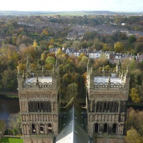 Twin Towers of Durham
