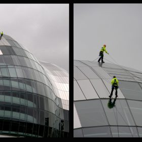 J Atkinson - Sage Window Cleaners Diptych
