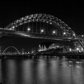 Tony McCann - Tyne Bridge After Dark