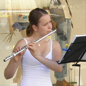 June Atkinson - Flautist