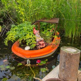 Bill Norfolk - Garden Gnome Boat