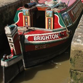 Kath Guellard - Narrowboat Brighton