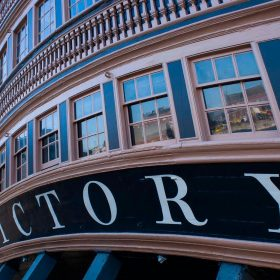 HMS Victory by Jane Ainsworth