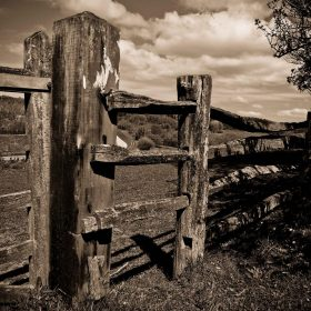Old Gate by Hank Craggs