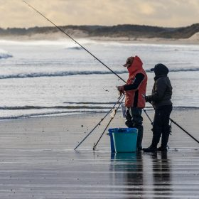 Winter Sea Fishing by Bill Norfolk