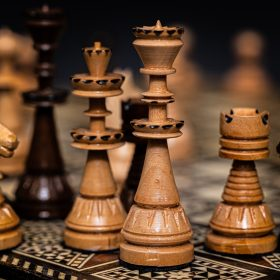 Chess Set by Fara Serajian