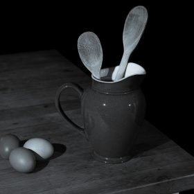 Egg and Spoon by Tony McCann