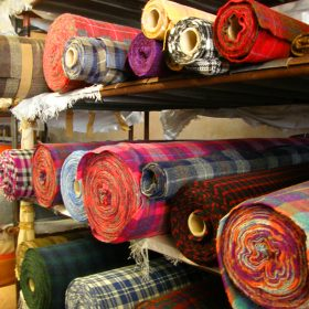Harris Tweed Rolls by June Atkinson