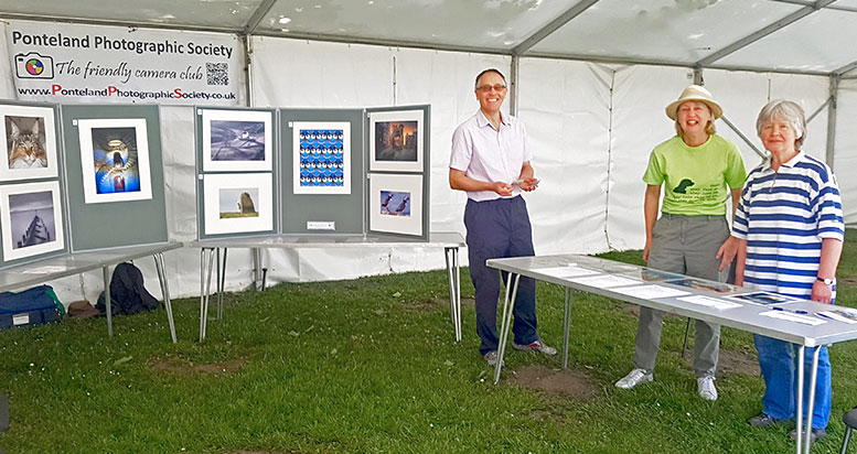 PPS stand at Party in the Park 2018